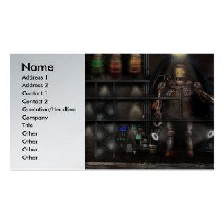 Científico enojado - el guardián tarjetas de visita