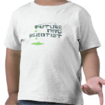 Científico enojado futuro camiseta
