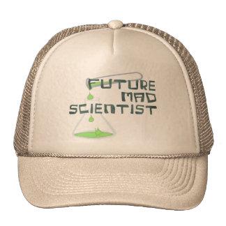 Científico enojado futuro gorro