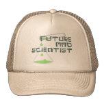 Científico enojado futuro gorros bordados
