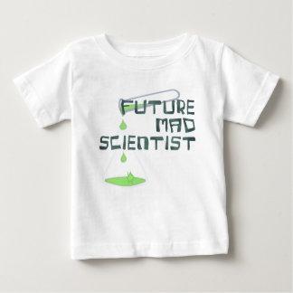 Científico enojado futuro playera para bebé