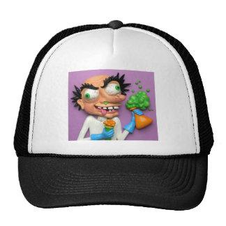 Científico enojado gorra