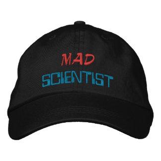 Científico enojado gorra de beisbol bordada
