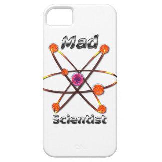 Científico enojado iPhone 5 carcasas