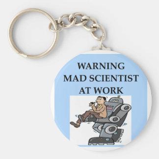 Científico ENOJADO Llavero Personalizado