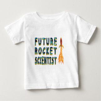 Científico futuro de Rocket Playera De Bebé