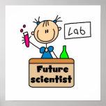 Científico futuro impresiones