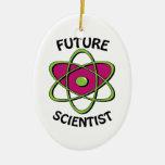Científico futuro ornamento para reyes magos