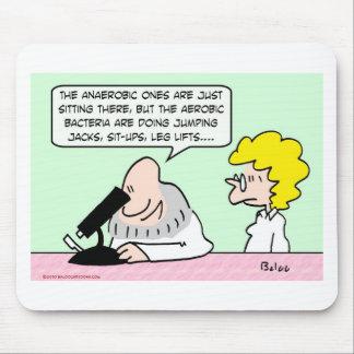 científicos aerobios de las bacterias anaerobias mousepads