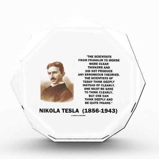 Científicos de Nikola Tesla de Franklin a Morse