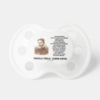Científicos de Nikola Tesla de Franklin a Morse Chupetes Para Bebés