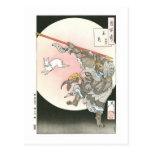'Cientos aspectos del Moon Postal