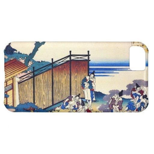 Cientos poemas explicados por la enfermera Hokusai Funda Para iPhone 5C