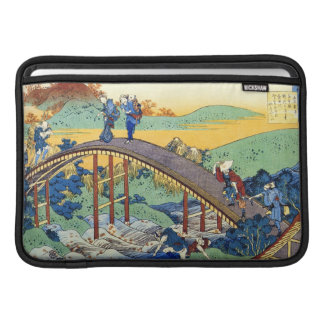 Cientos poemas explicados por la enfermera Hokusai Fundas MacBook