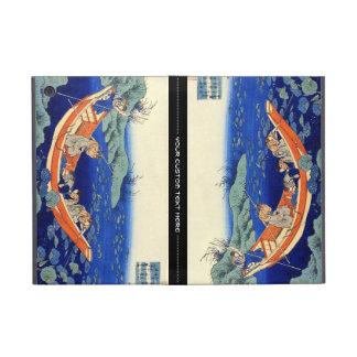 Cientos poemas explicados por la enfermera Hokusai iPad Mini Cárcasa