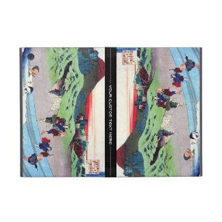 Cientos poemas explicados por la enfermera Hokusai iPad Mini Carcasas