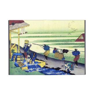 Cientos poemas explicados por la enfermera Hokusai iPad Mini Fundas