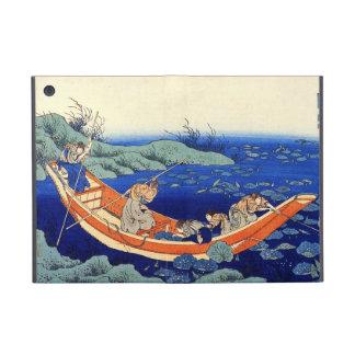 Cientos poemas explicados por la enfermera Hokusai iPad Mini Carcasa