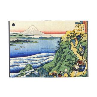 Cientos poemas explicados por la enfermera Hokusai iPad Mini Cárcasas