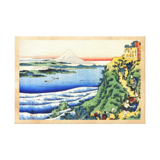 Cientos poemas explicados por la enfermera Hokusai Lona Envuelta Para Galerías