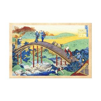 Cientos poemas explicados por la enfermera Hokusai Lona Estirada Galerias