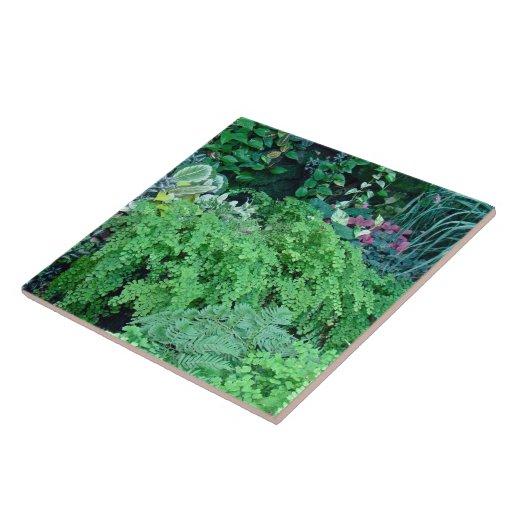 Cientos sombras de Verde-Verde son hermosas Azulejo Cerámica