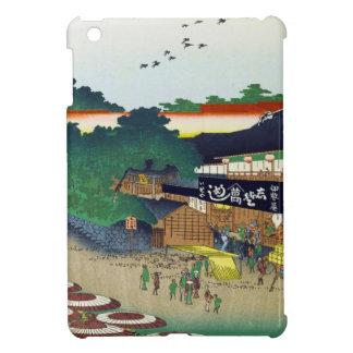 Cientos vistas famosas de Edo Ando Hiroshige iPad Mini Cárcasa