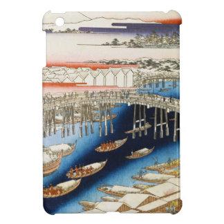 Cientos vistas famosas de Edo Ando Hiroshige iPad Mini Protectores