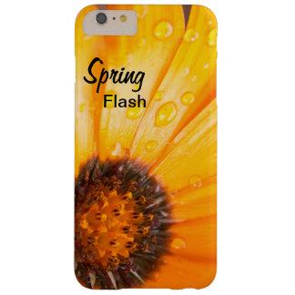 Cierre anaranjado de la margarita africana del funda barely there iPhone 6 plus