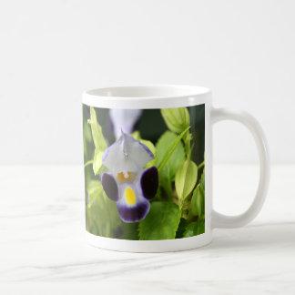 cierre blanco y púrpura de la flor para arriba