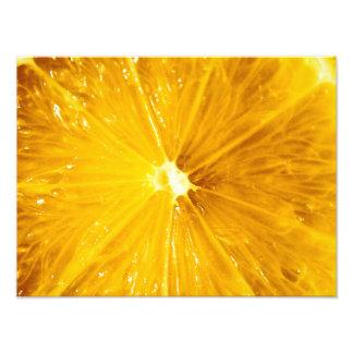 Cierre colorido brillante del limón para arriba arte con fotos