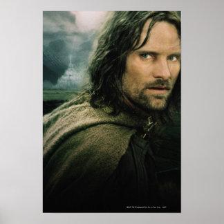 Cierre de Aragorn para arriba Póster