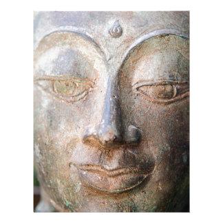 Cierre de Buda para arriba Plantilla De Membrete