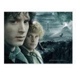 Cierre de Frodo y de Samwise para arriba Postal