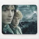 Cierre de Frodo y de Samwise para arriba Tapete De Raton