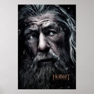 Cierre de Gandalf para arriba Posters