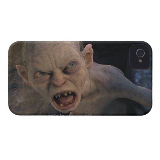Cierre de Gollum para arriba iPhone 4 Case-Mate Cárcasa