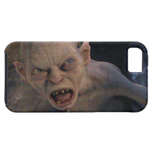 Cierre de Gollum para arriba iPhone 5 Carcasas