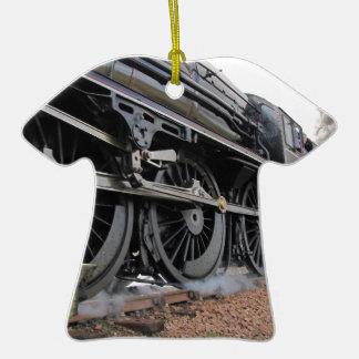 Cierre de Gran Bretaña III para arriba Adorno De Cerámica En Forma De Camiseta