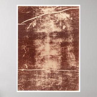 Cierre de la cara de Jesús para arriba en la cubie Posters
