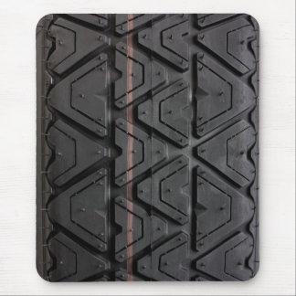 Cierre de la pisada del neumático para arriba tapete de ratón