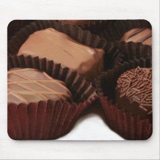 cierre de lujo del caramelo de chocolate para arri tapete de raton