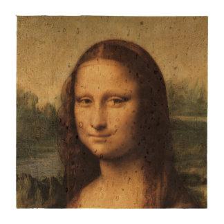 Cierre de Mona Lisa para arriba por Leonardo da Vi Posavasos