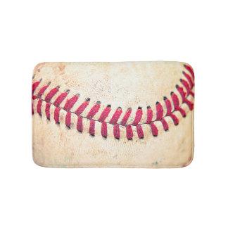 Cierre del béisbol del vintage encima de la foto