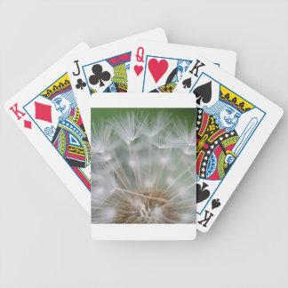 Cierre del diente de león baraja de cartas