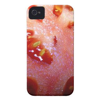 Cierre del extremo de la rebanada del tomate para  iPhone 4 Case-Mate protectores