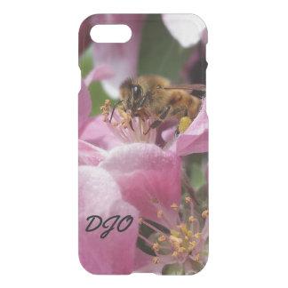 Cierre del flor de Crabapple de la abeja de la Funda Para iPhone 7