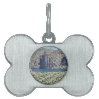 Cierre del lago canyon placas de mascota