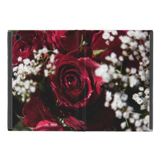 Cierre del ramo de los rosas rojos para arriba iPad mini carcasas