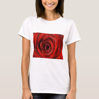 Cierre del rosa rojo para arriba playera